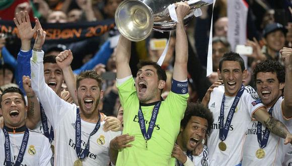 Iker Casillas ganó la Champions League por última vez en 2014. (Internet)