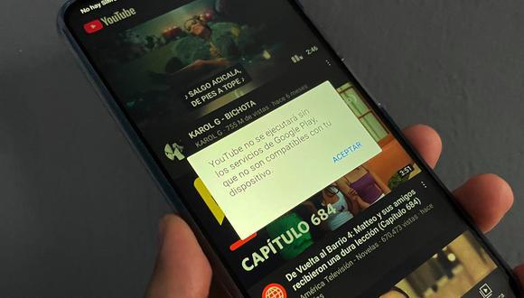¿No puedes instalar YouTube en tu celular de Huawei? Conoce el método para no necesitar Google Play. (Foto: Depor)