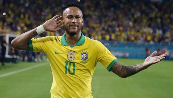 Neymar vuelve a la convocatoria de Brasil para la fecha doble rumbo a Qatar 2022. (Foto: AFP)