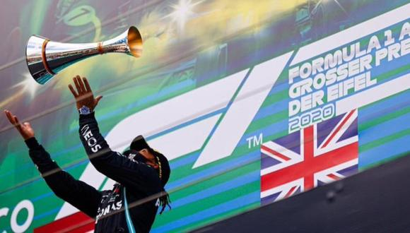 Lewis Hamilton alcanza el record de victorias del alemán Michael Schumacher