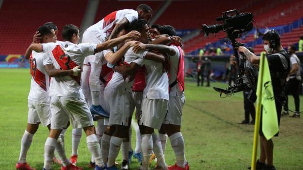 La selección peruana clasificó a los cuartos de final de la Copa América, como segundo del Grupo B. (Foto: FPF)