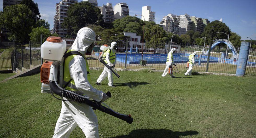 Últimas noticias y breaking news del coronavirus en Argentina. (Foto: AFP/Eitan Abramovich/Archivo)