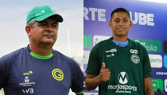 Kevin Quevedo debutó con Goias el 1 de marzo frente a Vila Nova por el Campeonato Goiano.