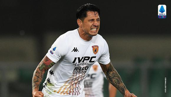 Gianluca Lapadula sigue de mala racha sin anotar con Benevento. (Foto: Twitter Benevento)