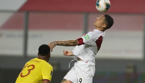 Paolo Guerrero es el segundo jugador con más partidos vistiendo la camiseta de la selección peruana. (Foto: AP Photo/Martin Mejia)