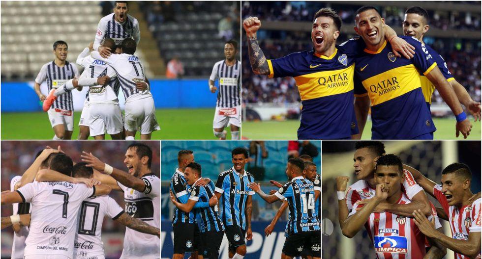 Equipos clasificados a la Copa Libertadores 2020 [FOTOS}