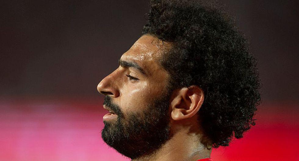 Mohamed Salah disputó el Mundial Rusia 2018 con Egipto. (Getty)