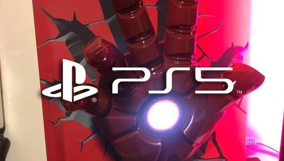 ¡PS5 con estilo! Iron Man vive en una consola de PlayStation gracias a este fan. (Foto: Vandal)