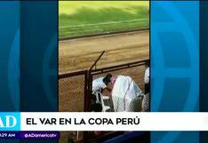¡El VAR llegó a la Copa Perú! Partido en Lamas se decidió con sistema artesanal instalado en el estadio [VIDEO]