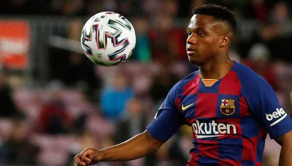 Ansu Fati tiene contrato con FC Barcelona hasta el 2022  (Foto: Agencias / Internet)