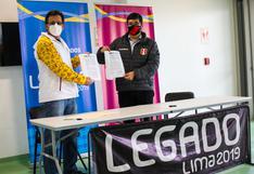 FPF firmó convenio con Legado de Lima 2019 para el usos de sus instalaciones en la toma de muestras de la Liga 2