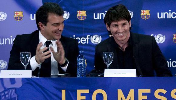 Joan Laporta fue presidente de FC Barcelona entre 2003 y 2010. (Foto: AFP)