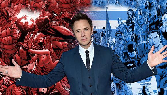 """James Gunn sueña con un crossover entre """"Marvel"""" y """"DC""""."""