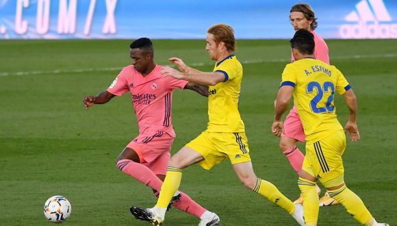 Real Madrid perdió 1-0 ante Cádiz: revive las mejores incidencias en el Di Stéfano por LaLiga Santander