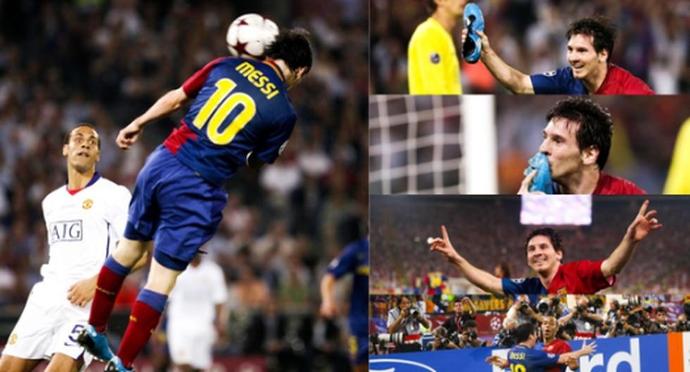 Lionel Messi en la final de Champions 2009. (Foto: Twitter)
