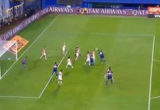 Cabezazo inatajable: el gol de Lisandro López para el 1-0 del Boca Juniors vs. Caracas [VIDEO]