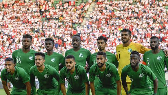 Arabia Saudita enfrentó a la Selección Peruana en 2018. (FOTOS)