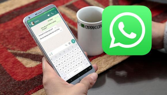 De esta forma podrás agrandar las letras de tus conversaciones de WhatsApp de una forma fácil. (Foto: WhatsApp)