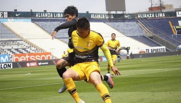 Cusco FC y Cantolao se enfrentaron en el Alejandro Villanueva. (Foto: Liga 1)