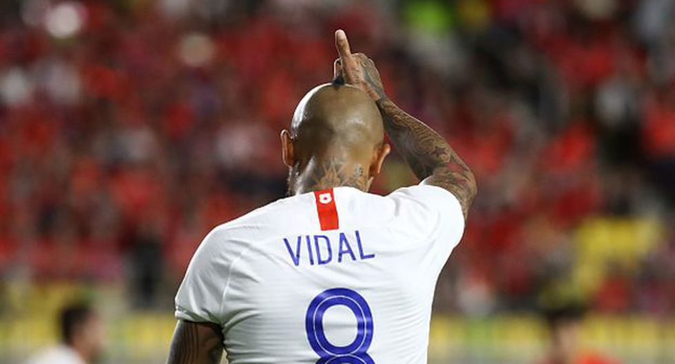 Arturo Vidal concentra con Chile en Miami, previo a partido con Perú. (Video: Getty)