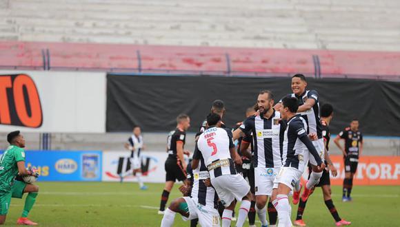 Yordi Vilchez disputó los 90 minutos en el duelo entre Alianza Lima y Ayacucho FC. (Foto. Difusión)
