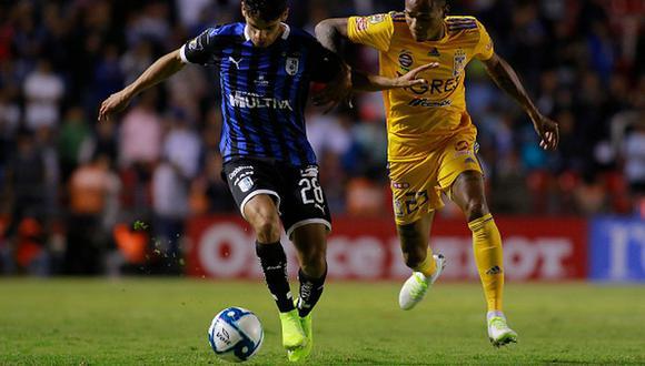 Tigres empató 0-0 contra Querétaro por la jornada 17 del Apertura 2019 de la Liga MX