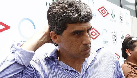 Álvaro Barco indicó este lunes que el titular de la FPF lo discriminó al no dejarlo participar en la reunión virtual entre la FPF y los clubes de la Liga 1. (Foto: GEC)