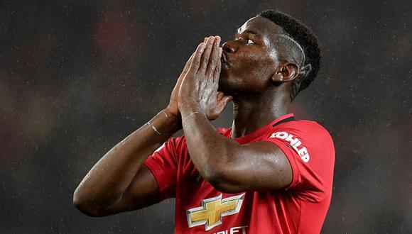 Paul Pogba llegó al Manchester United en la temporada 2016/17. (Getty)