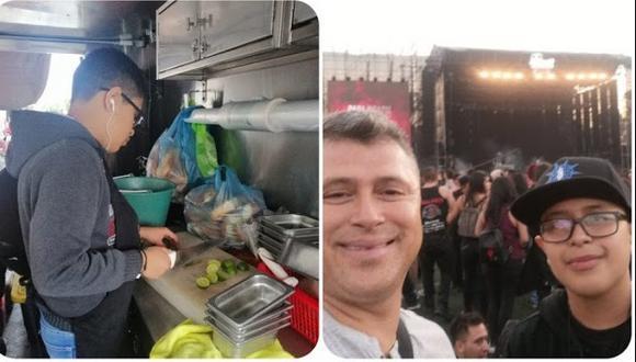 Facebook viral | La historia del niño que trabajó un año para ver a Slipknot pero show fue cancelado. Foto: Facebook