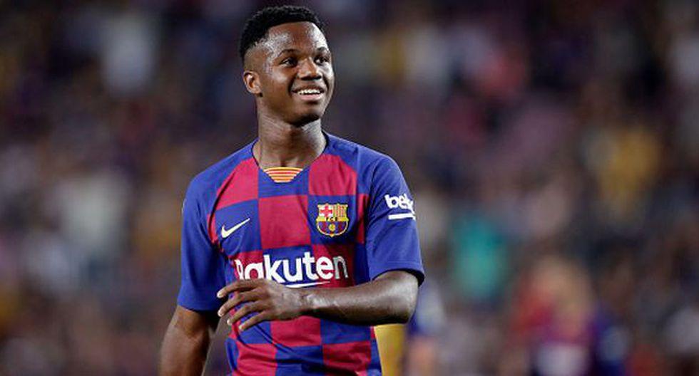 Ansu Fati llegó al Barcelona en el 2013, proveniente de las inferiores del Sevilla. (Getty)