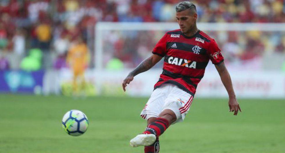 Miguel Trauco participó en los goles de la victoria de Flamengo sobre Atlético Mineiro. (Foto: Flamengo)