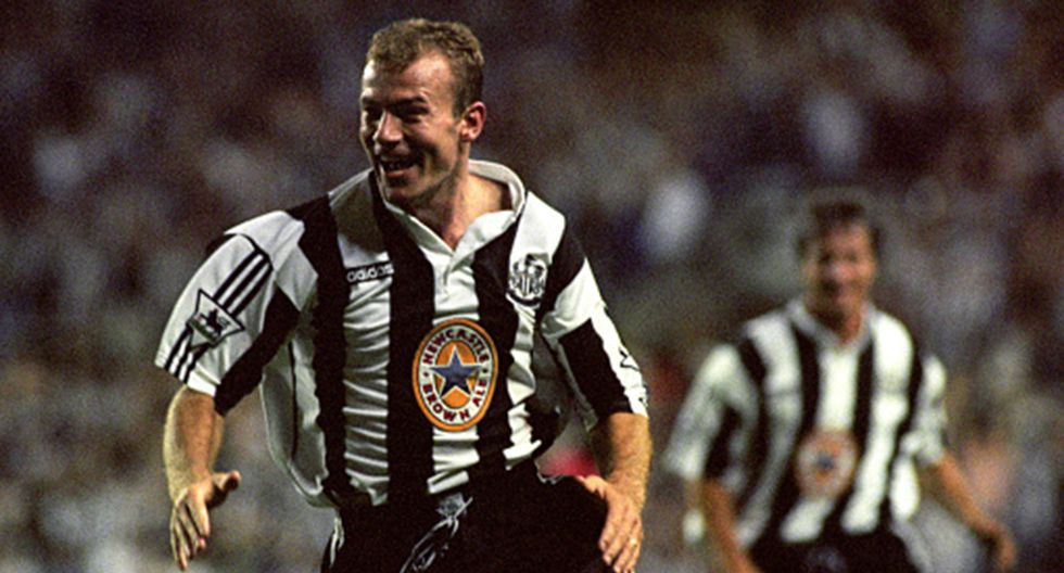 Alan Shearer, podio 1996.(Getty Images)