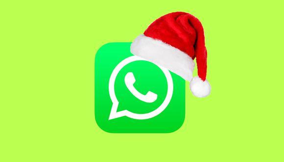 ¿Quieres programar tu mensaje por Navidad? Mira este espectacular truco de WhatsApp. (Foto: Depor)
