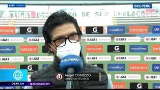 """Comizzo tras empate en la primera fecha: """" Yo no lloro si me faltan jugadores para un partido"""""""