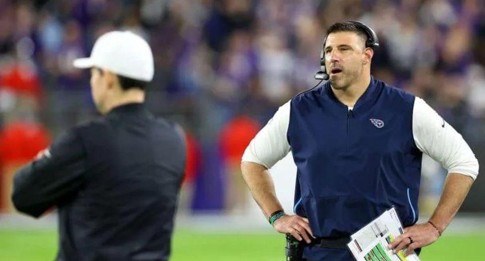 Mike Vrabel, entrenador de Tennessee Titans, hizo una promesa peligroso por si gana el Super Bowl LIV. (Foto: AFP)