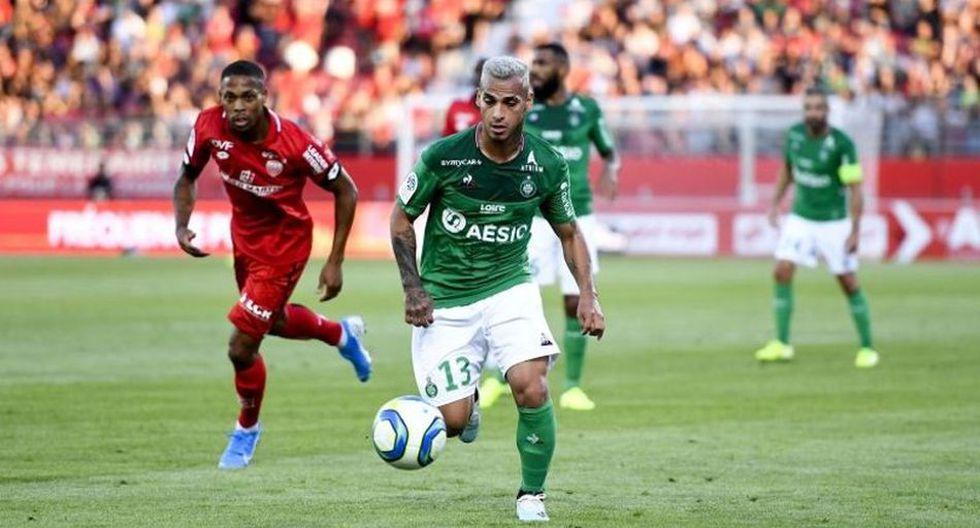Miguel Trauco llegó al Saint Etienne procedente del Flamengo. (AFP)