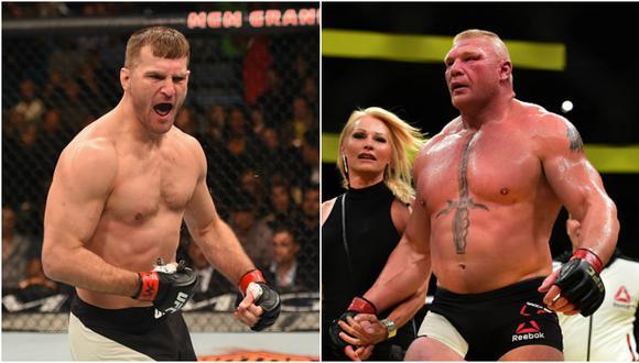 Stipe Miocic defenderá su título pesado de UFC el 7 de julio ante Daniel Cormier. (Getty Images)
