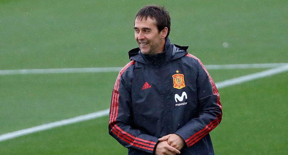 Julen Lopetegui fue despedido de España en 2018 por arreglar con el Real Madrid antes del Mundial.