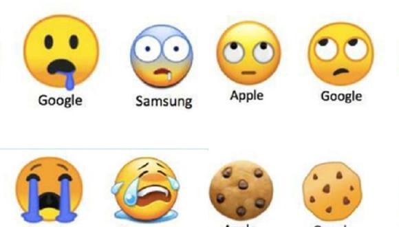 Esta es la razón por la que los emojis son diferentes en Google, Samsung y iOS. (Captura)