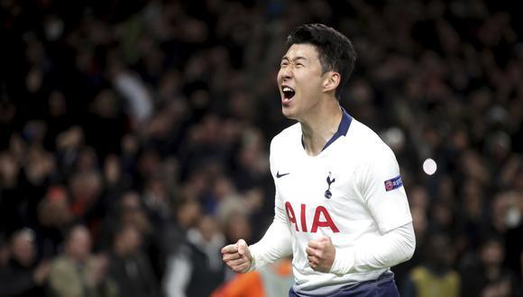 Son Heung-min juega en el Tottenham desde la temporada 2015. (Foto: AFP)