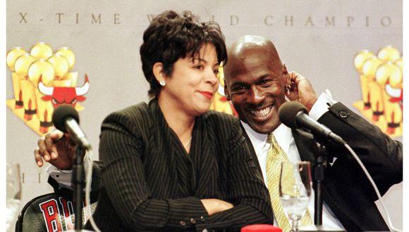 Juanita Vanoy vio de cerca cómo Jordan se convertía en una leyenda del baloncesto. (Foto: AFP)
