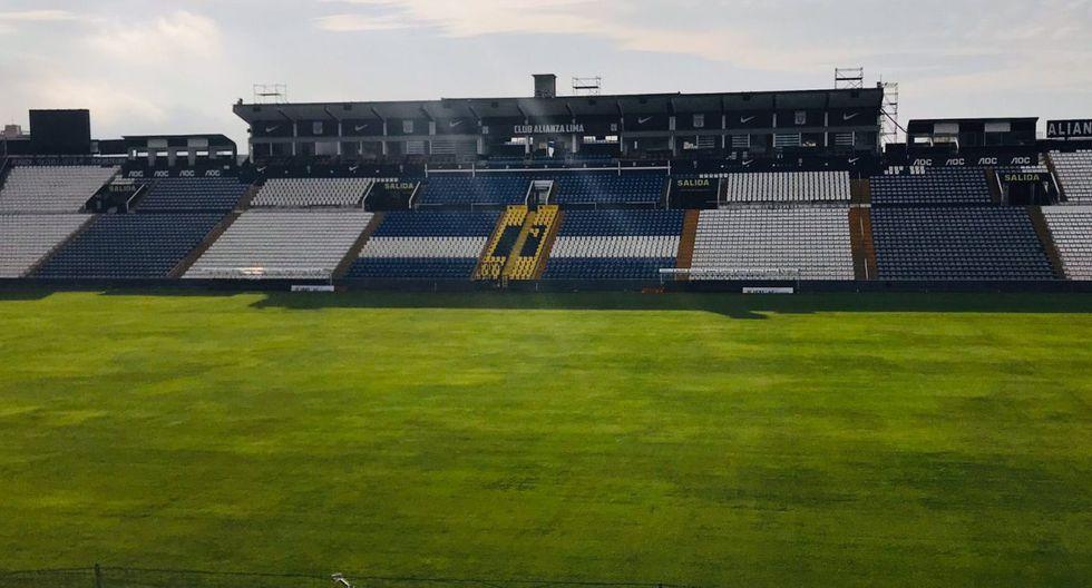 Alianza Lima: así luce Matute. (@SergioM170599)