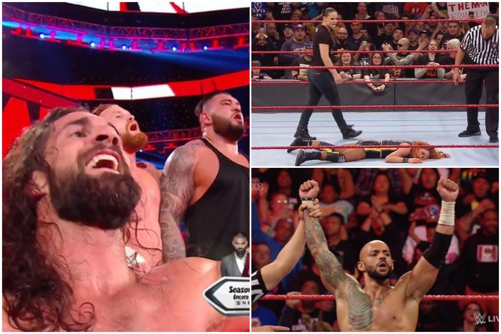 Conoce todos los resultados del Raw de Ontario. (Foto: WWE)