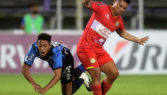 Sport Huancayo espera seguir avanzando en la Sudamericana (Foto: AFP)