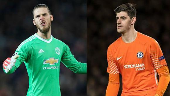 De Gea y Courtois finalmente no llegarían al Real Madrid. (Fotos: Getty)