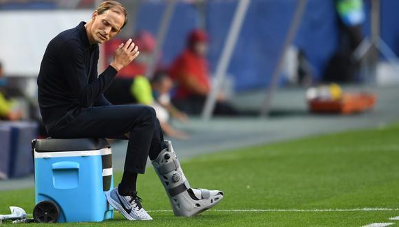 Tuchel se quejó por las sanciones que ha recibido PSG tras el Clásico contra Marsella. (Foto: AFP)