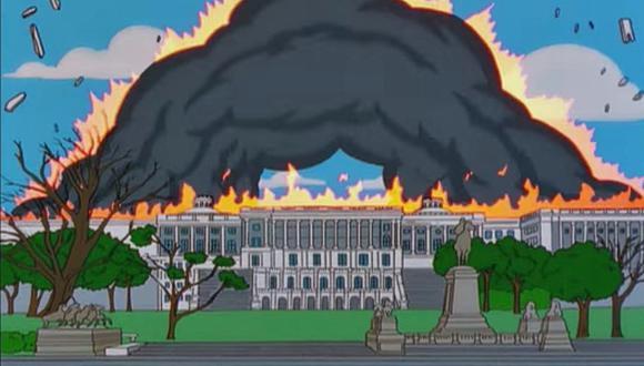 ¿Los Simpsons predijeron el ataque al Capitolio estadounidense? Algunos usuarios creen que sí. (Foto: FOX)