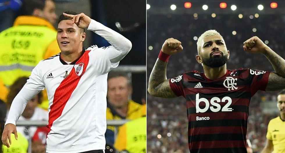 River Plate vs Flamengo se enfrentan en la final de la Copa Libertadores 2019. (Foto: Agencias)
