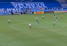 Rafael Sóbis marcó golazo desde la mitad del campo con Cruzeiro en la Segunda de Brasil [VIDEO]