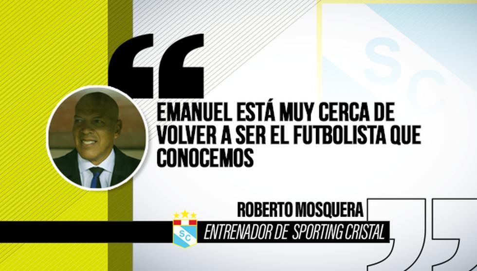 Roberto Mosquera y sus mejores frases del año. (Diseño: Depor)